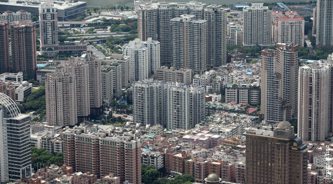 China's red-hot property market gone cold
