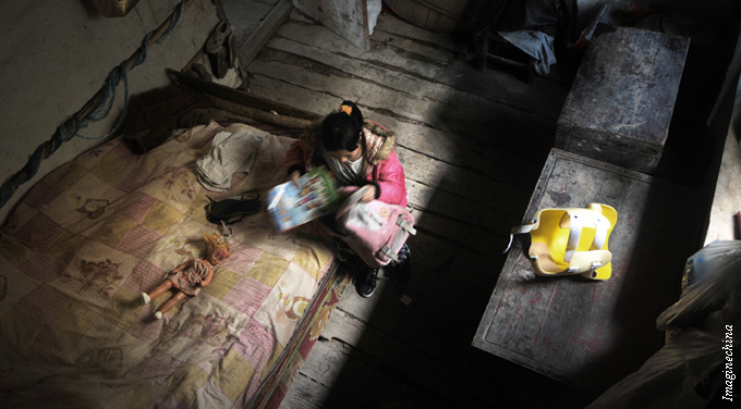 Poverty in China: Smaller, but tougher