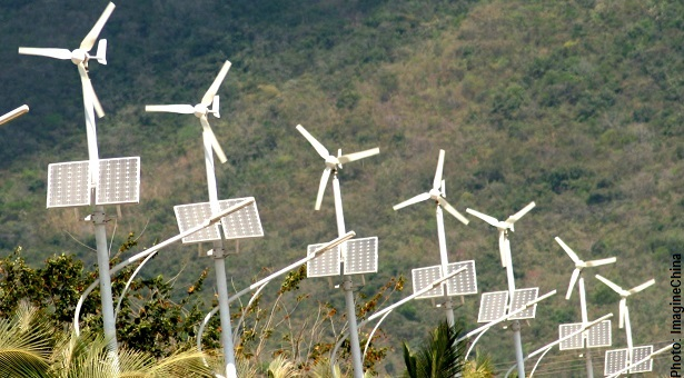 China seeks to turn its potential wind and solar power into a reality