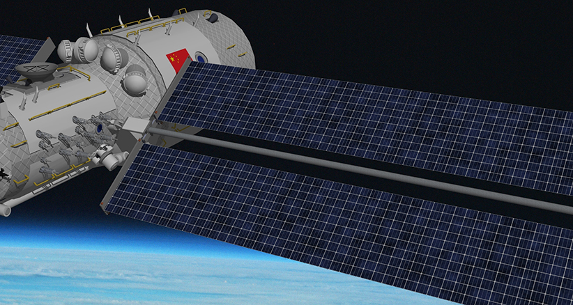China starts launch of space station into orbit